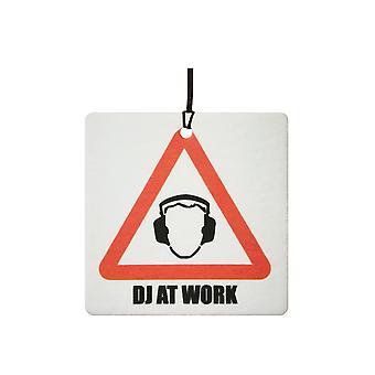 DJ på arbete bil luftfräschare