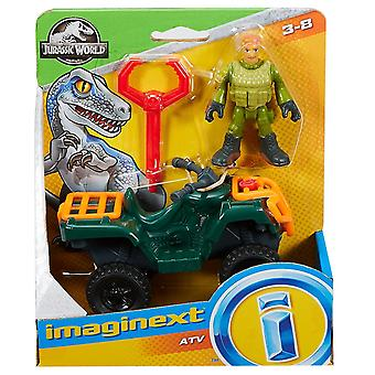 Fisher-price Imaginext Jurassic World Atv Quad