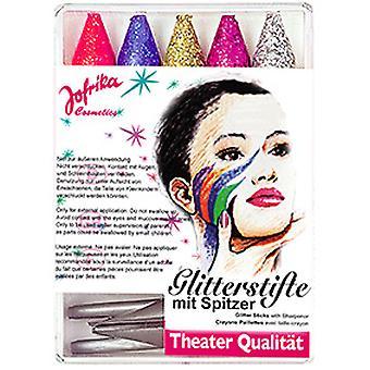 Glitterstifte m. Spitzer
