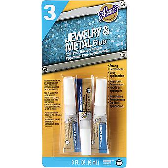 Aleene's Jewelry & Metal Glue .1Oz 3 Pkg 29131