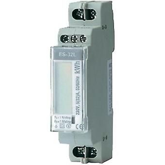 Electricity meter (AC) digital 32 A MID-approved: No ENTES ES-32L