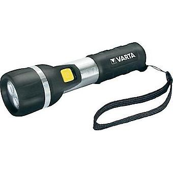 LED Torch Varta Day Light 2 AA battery-powered 25 lm 139 g Black/silver