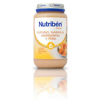 Nutribén Tangerine And Pear Orange Banana 250 G (Jeugd , Voederen , Potito)