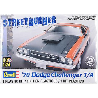 Plastic Model Kit - 70 Dodge Challenger T / A 2 en 1 01:24 85-2596