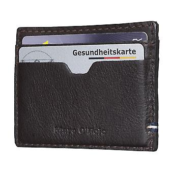 Marc O ´ Polo men credit card case card holder leather case Brown 4990
