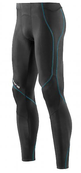 SKINS Cold Black Men's Long Tights Black B80115001