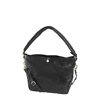 Dr Amsterdam Hand/shoulder bag Black Grain