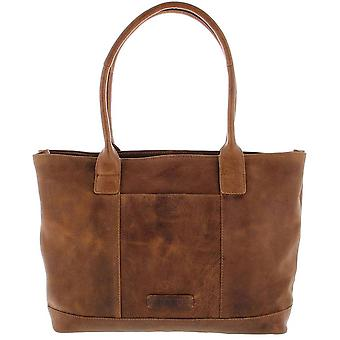 Plover Business/laptop bag ladies full grain cowhide leather 1-compartment 14