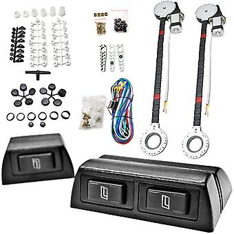 2x Car Window Automatic Power Kit Electric Roll Up For Chevy Colorado Corvette Cruze El Camino Equinox