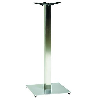 Pluto Square Poeseur Stainless Steel Table Base