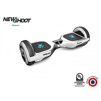 hoverboard spinboard © classic silver chrome