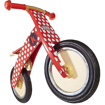 Kiddimoto Kurve- Bike Red Dotty