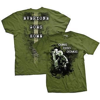 Ranger op alle går hjem T-Shirt-grøn
