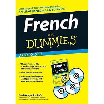 French For Dummies (Audio CD) by Erotopoulos Zoe