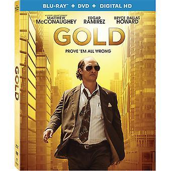 Guld [Blu-ray] USA importerer