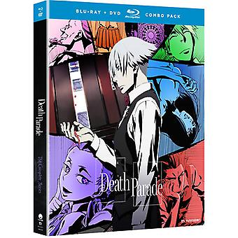 Death Parade: The Complete Series [Blu-ray] USA import