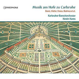 KAEFER / Molter / Bodinus / Schwindl / Brandl - Musik er Hofe Zu Carlsruhe [CD] USA import