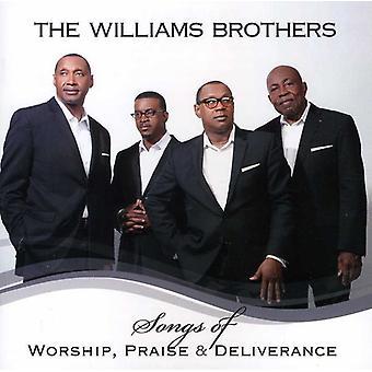 Williams brødre - sange af gudstjeneste ros & udfrielse [CD] USA import