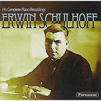 Erwin Schulhoff - hans komplet klaver optagelse [CD] USA import