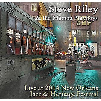 Steve Riley & Mamou Playboys - Live at Jazz Fest 2014 [CD] USA import