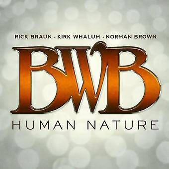 BWB - menneskelige natur [CD] USA importerer