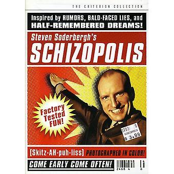 Schizopolis [DVD] USA importerer