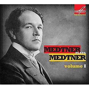 Medtner / Medtner - Medtner spiller Medtner 1 [CD] USA import