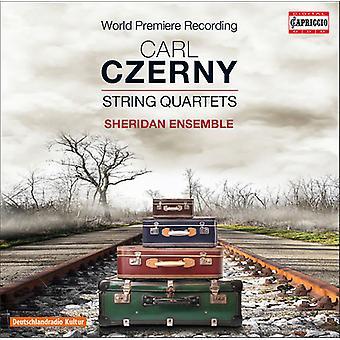 Czerny / Sheridan Ensemble - strygekvartetter [CD] USA import