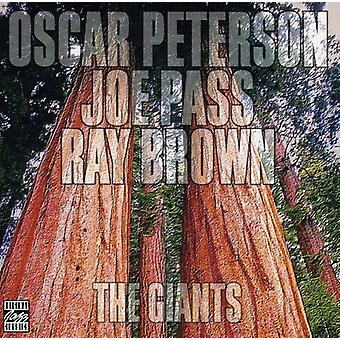 Peterson/Pass/Brown - Giants [CD] USA import