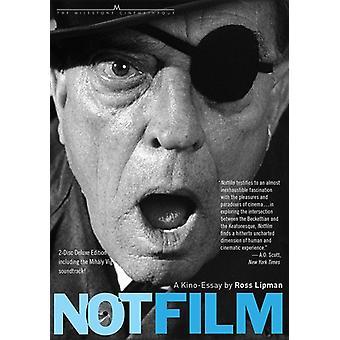 Notfilm [Blu-ray] USA importerer