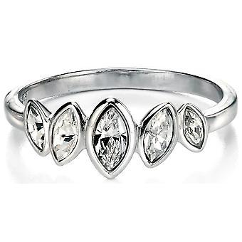 Principessa di zirconio anello in argento 925