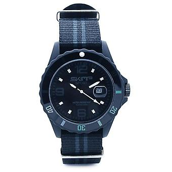 Skimp  Watch Courageuse Grey/Black (Fashion accesories , Watches , Analog)