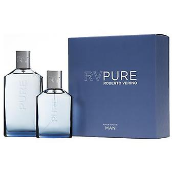 Roberto Verino Pure Man Eau De Toilette 150 Ml + 1 Piece (Parfümerie , Packs )