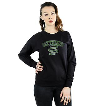 Harry Potter Women's Slytherin Sport Emblem Sweatshirt