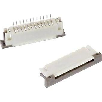 Receptacles (standard) ZIF FPC Total number of pins 14 Würth Elektronik 68611414122 Contact spacing: 1 mm 1 pc(s)