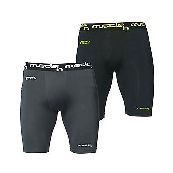 Muscle-In Performance Shorts Large Grey