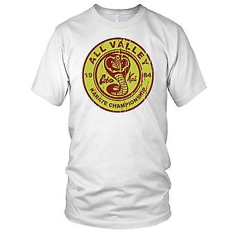 All Valley Karate Championship Cobra Kai Karate Kid Mens T Shirt