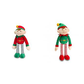 Keel Toys Christmas Dangly Elf Boy Plush Toy