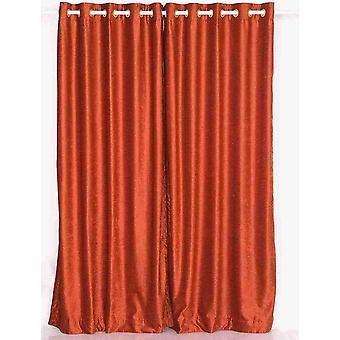 Oxida el anillo ojal superior cortina de terciopelo / cortina / Panel - pieza