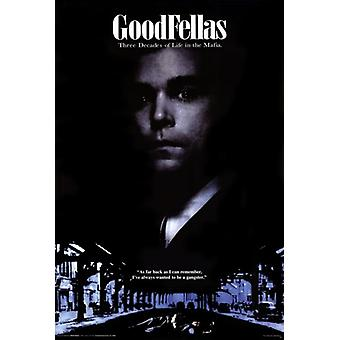 Goodfellas - Gangster Poster Poster Print