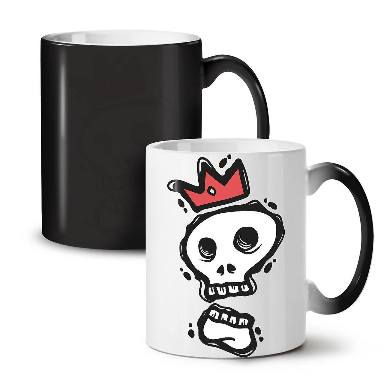 Of Ceramic 11 The OzWellcoda King Coffee New Colour Changing Mug Black Skull Tea PXiTwOkZu
