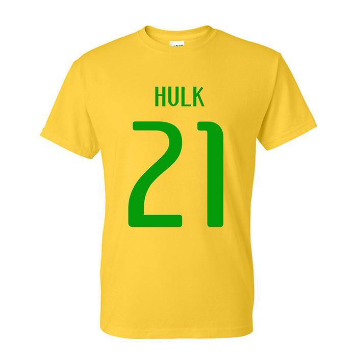 Hulk Brazil Hero T-shirt (yellow)