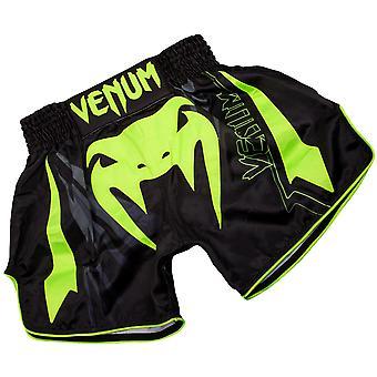 Venum Sharp 3,0 ligero Muay Thai Shorts - amarillo negro/Neo