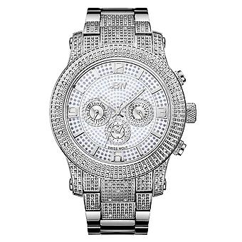 JBW diamond men's stainless steel watch LYNX - silver