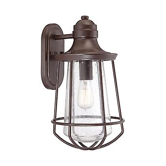 Marine One Light Large Wall Lantern  - Elstead Lighting Qz/marine/l