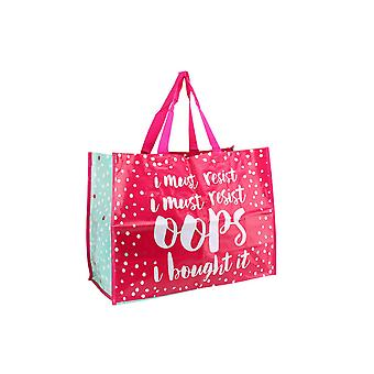 CGB Giftware Oh So Pretty Oops Shopping Bag