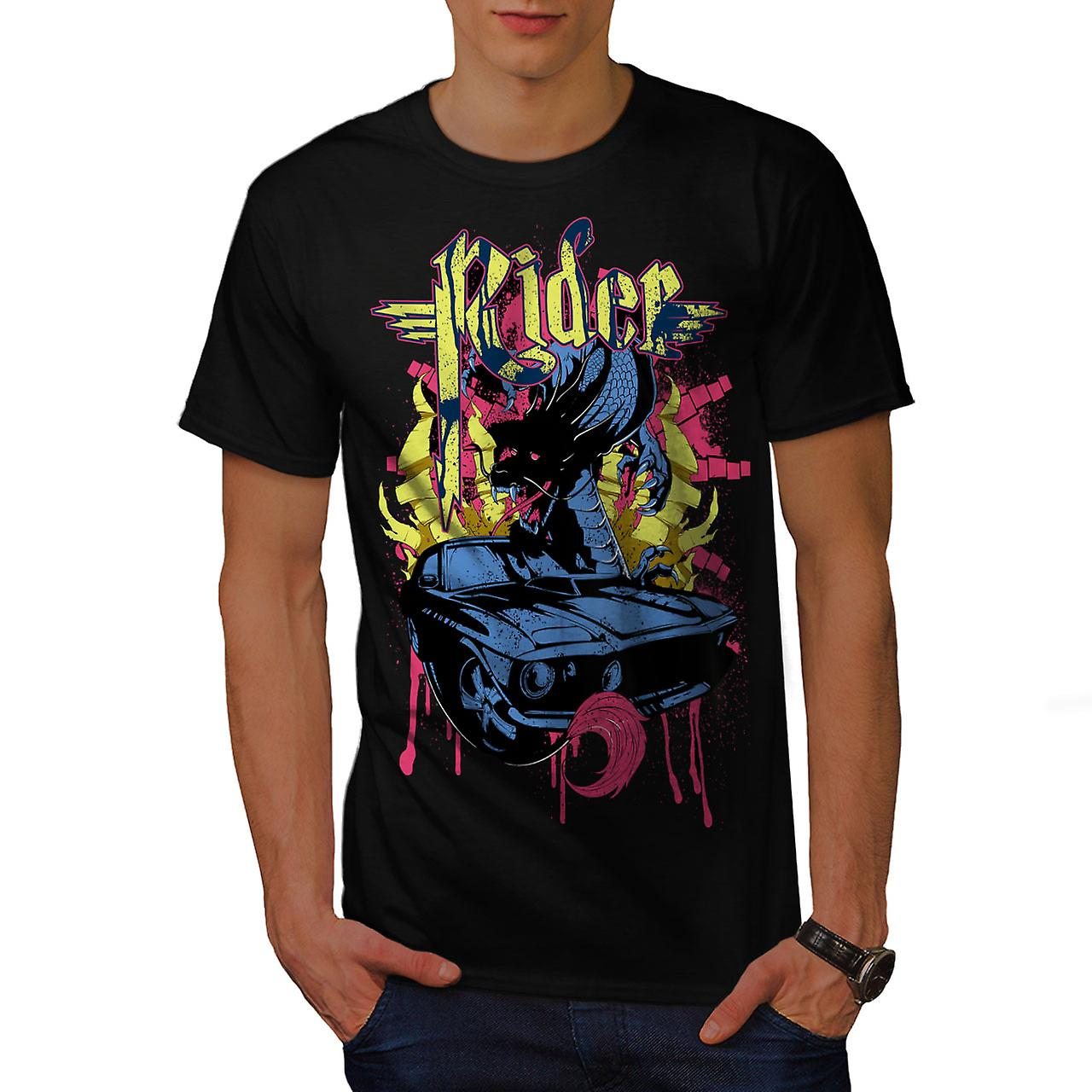 Rider Blood Sport Car Men Black T-shirt | Wellcoda