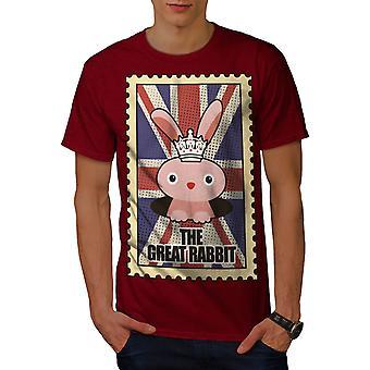 Stort kanin menn RedT-skjorte | Wellcoda