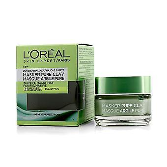 L'OREAL peau Expert Pure argile masque - purifier et matifier - 50ml/1. 7 oz
