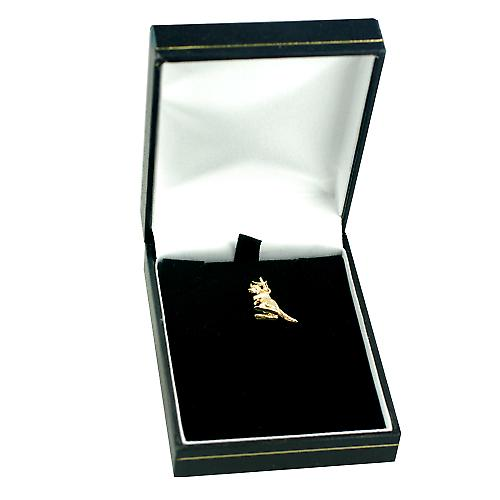 9ct Gold 13x14mm Kangaroo Charm